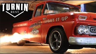 Light It Up | 1962 Chevy C10 Patina Shop Truck | Turnin Rust Episode 6