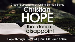 Creech Baptist Church - Sunday 24th January 2021