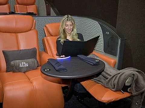 New luxury movie theater open in New York
