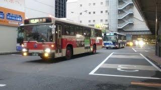 とある平日の夕方の広島バスセンター