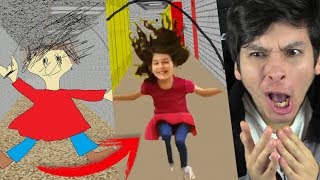 ¿ASÍ ES PLAYTIME EN LA VIDA REAL? LA NIÑA ESTÚPIDA !! OMG - Baldi's Basics In Education