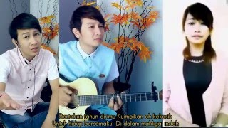 (Luka Hati Luka Diri) Nathan Fingerstyle + Dhea Puse SHakwa + Praz Eka  (Cover)