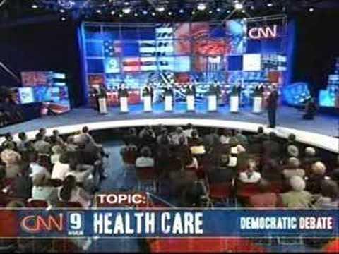2007 NH Democratic Presidential Debate (Part 7)