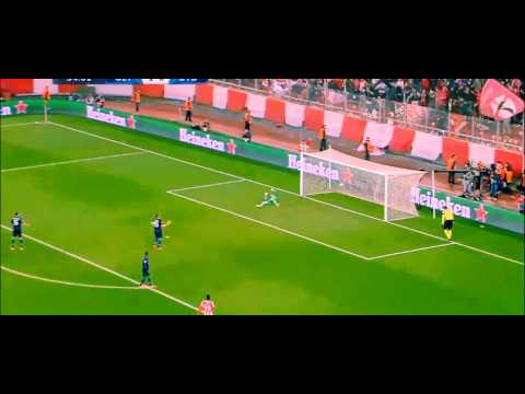 Champions League: Olympiacos 2-0 Manchester United (25/02/2014) [Highlights HD]