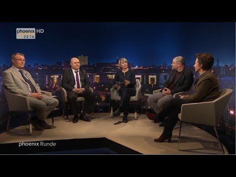 """phoenix Runde: """"Islamische Welt in Aufruhr - Wem gehört Jerusalem?"""" vom 12.12.2017"""