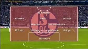 FC Schalke 04 6:1 HJK Helsinki Alle Tore Europa League Qualifikation 2011