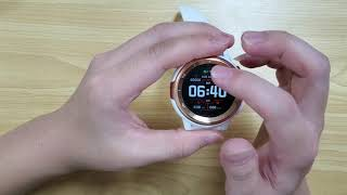 A minute to understand the smart watch DT68 / Видео