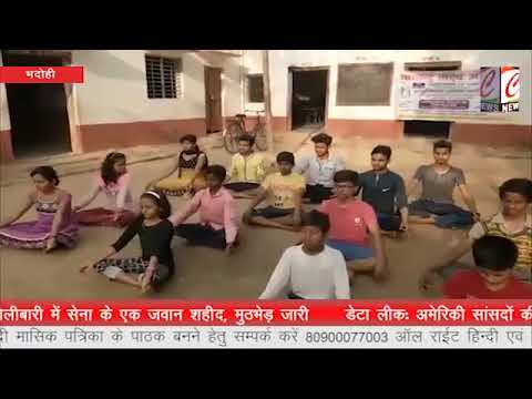 Bharatendu Natya Academy Workshop in Bhadohi..🙏😊