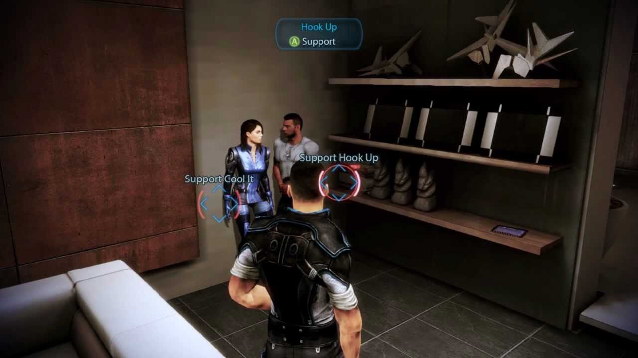 Mass effect hook up with ashley