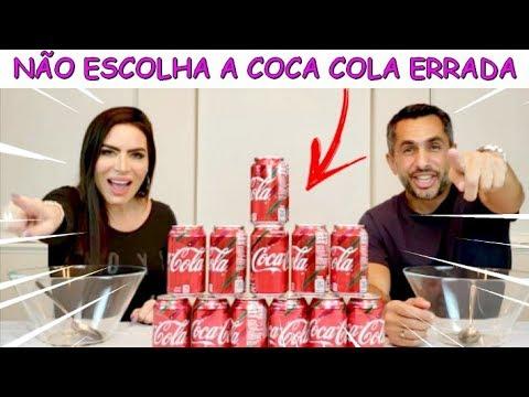 NÃO ESCOLHA A COCA COLA ERRADA - SLIME CHALLENGE