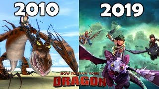 Evolution Of How To Train Your Dragon Games