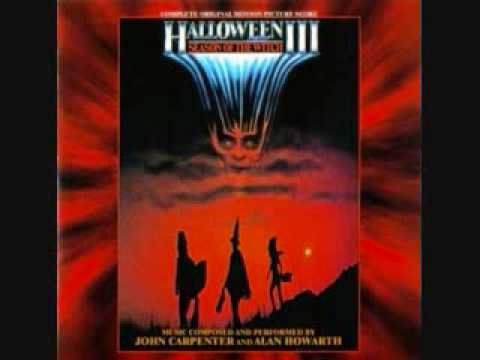 Halloween 3 Soundtrack First Chase & Robots At The Factory.wmv