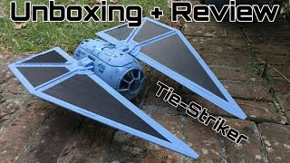 Review: Rogue One TIE Striker From Hasbro (Shoots Nerf Darts!)