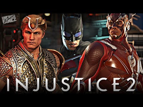 Thumbnail: Injustice 2: EPIC Justice League Movie Gear Gameplay!!