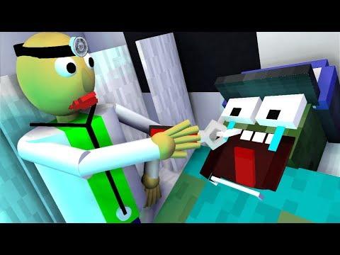 Monster School : Doctor Baldi's Challenge - Minecraft Animation