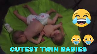 THE FUNNIEST AND CUTEST VIDEO YOU'LL SEE TODAY !! | Twin Babies Adorable Moments