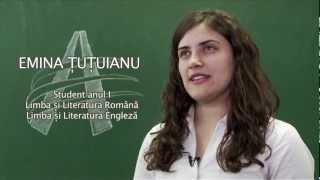 Limba si Literatura Romana - Limba si Literatura Engleza - Emina Tutuianu