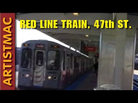 47th St Red Line Station