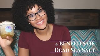 4 uses of the Dead Sea Salt By IMBUED!