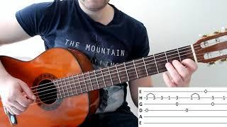 Разбор ИЗВЕСТНОЙ песни на гитаре для начинающих!