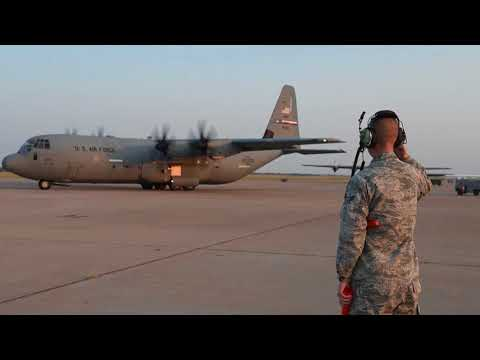 60 seconds or less: Dyess' 317th Airlift Wing lends a helping hand