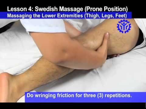 Prone Position - Lower Extremities
