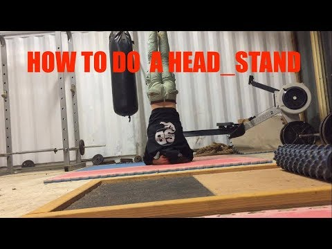 Beginner How To Do A Headstand - Yoga Basics - Adelaide Rock Climbing Gym
