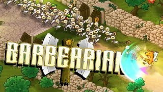 GIANT Undead Armies! - Barbearian Gameplay