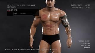 WWE 2K17 - إنشاء سوبر ستار 2