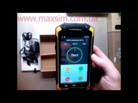 Видео обзор защищенного смартфона Discovery V9