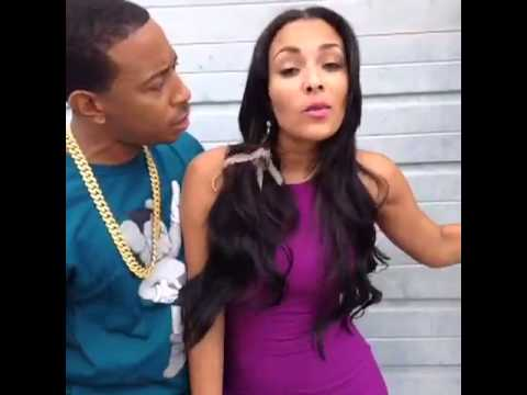 Ludacris girlfriend got hit in the head with a bottle last