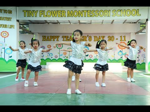 Together we are a family-Tiny Flower Montessori School