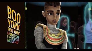 Poznajcie Faraona!   Monster High