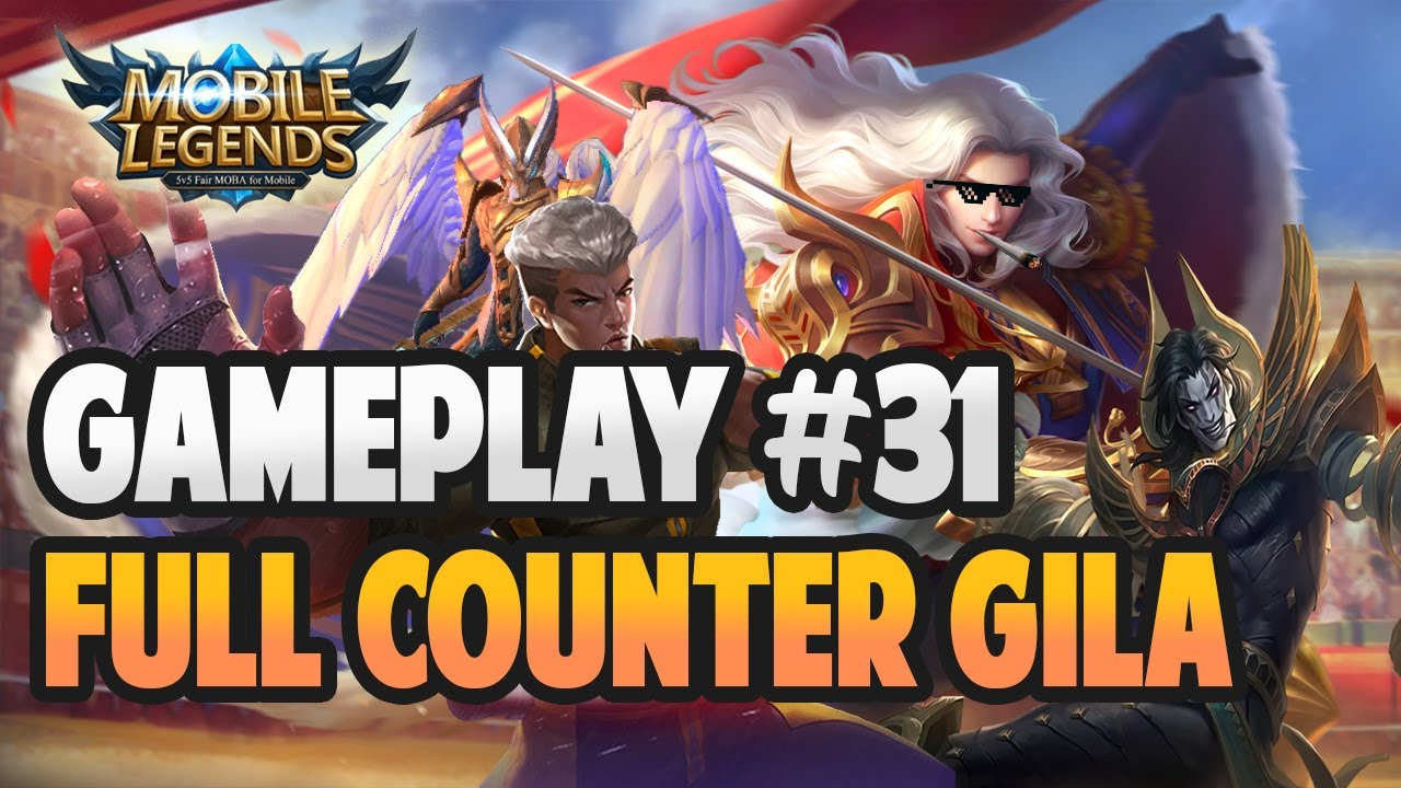 LANCELOT VS FULL COUNTER? GILA META SEKARANG | GAMEPLAY #31 | MOBILE LEGENDS BANG BANG