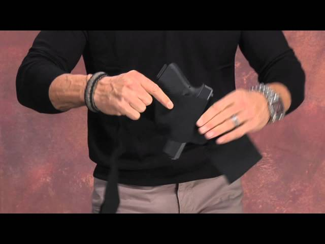 The Belly Band Concealment Holster - YouTube