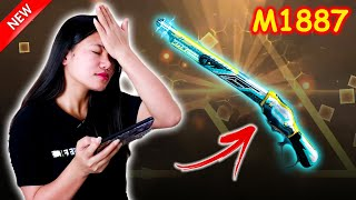 I unlocked the First M1887 Skin in Free Fire Roll The Dice Event | Sooneeta