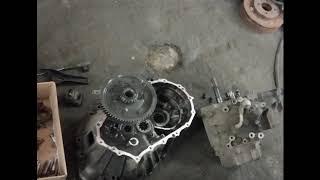 Toyota Sprinter Marino ремонт МКПП #Toyota Sprinter Marino#