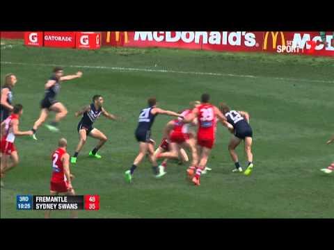 Week One Finals AFL - Fremantle v Sydney Swans Highlights