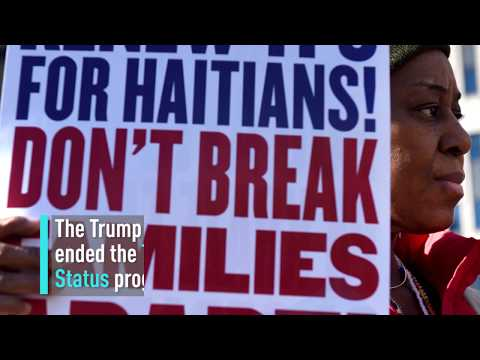 Haitian earthquake survivors given 18 months to leave US