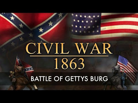 The Battle Of Gettysburg - American Civil War. - Full Documentary