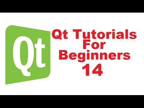 Qt Tutorials For Beginners 14 - Use QLineEdit as password field