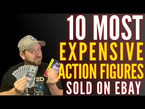 10 Most Expensive Figures On EBay!