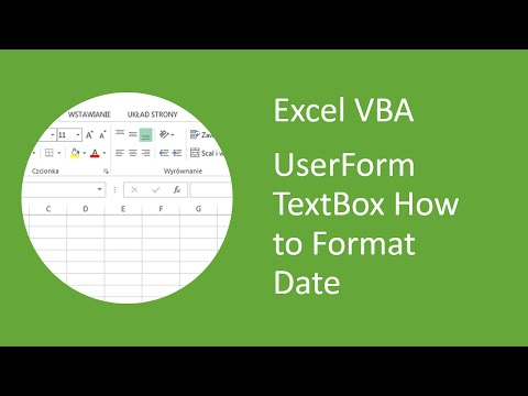 Excel VBA UserForm TextBox - How to format date