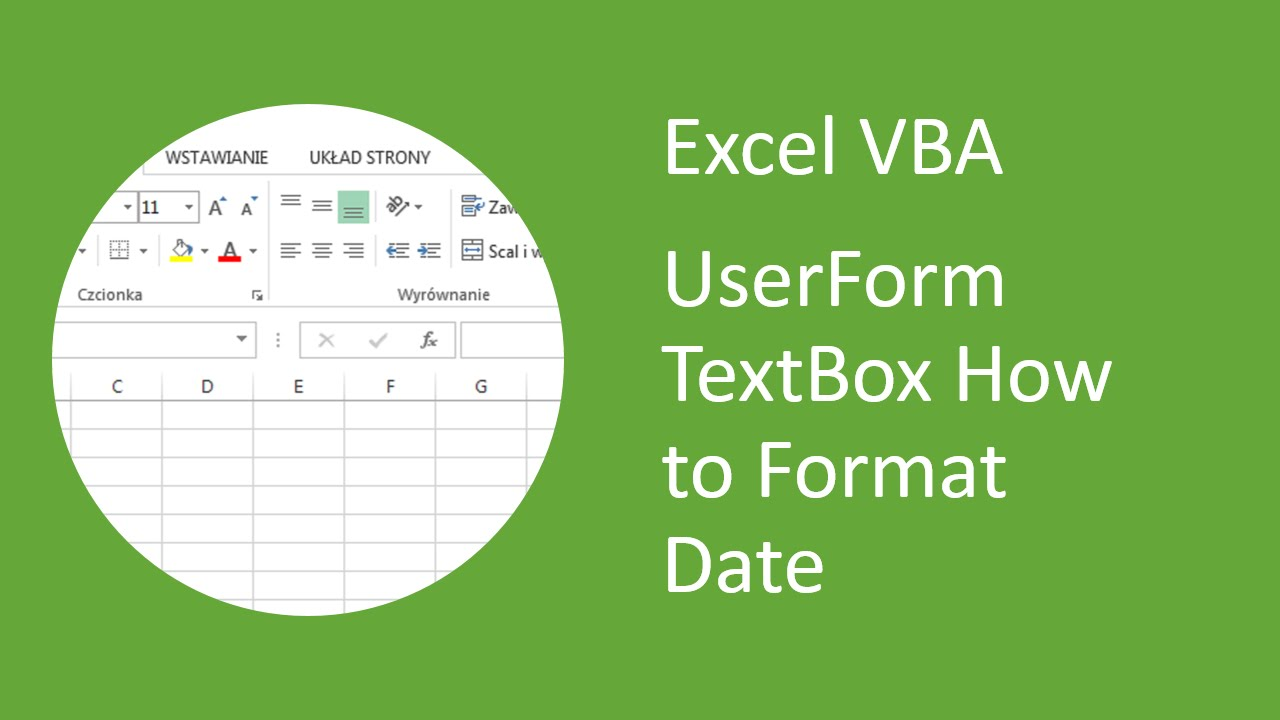 Excel Vba Userform Textbox