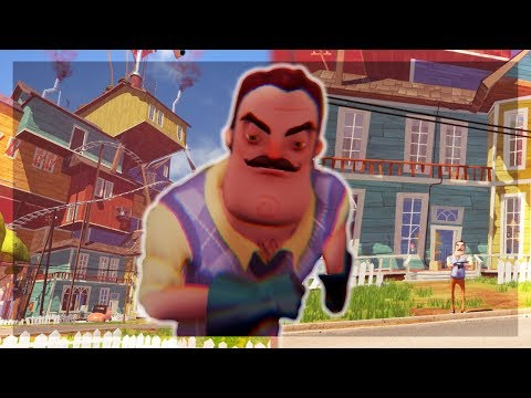 HELLO NEIGHBOR BETA 3 (with intro scene) thumbnail