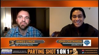 John Castaneda talks Combate Americas 100k, One-Night, Eight-Man Tournament Saturday