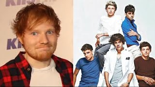 Ed Sheeran In Trouble Because Of One Direction?!
