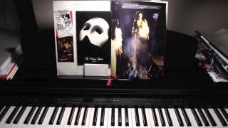 """""""The Point Of No Return"""" from Phantom Of The Opera - solo piano (HD)"""