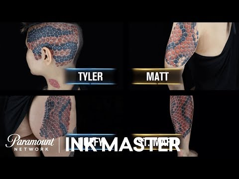 The Cheetah Tattoo That Caused A Panic Attack  Ink Master, Season 6
