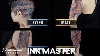 The Cheetah Tattoo That Caused A Panic Attack - Ink Master, Season 6